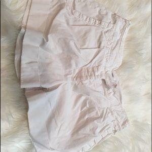 Diane Von Furstenberg White Casual Cuffed Shorts